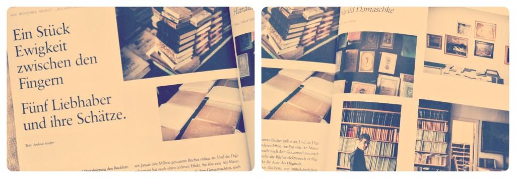 Collage Buchschätze
