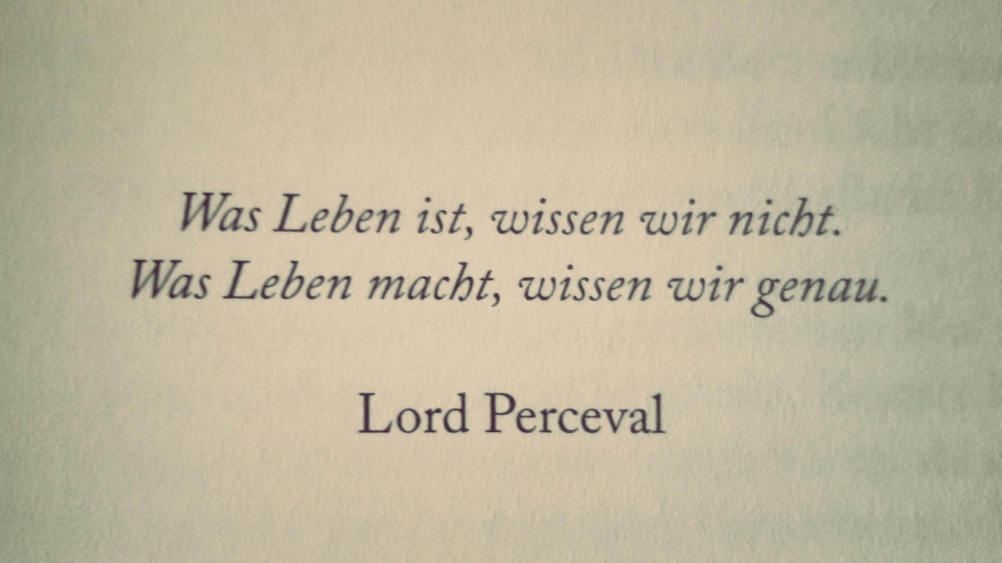 Lord Perceval