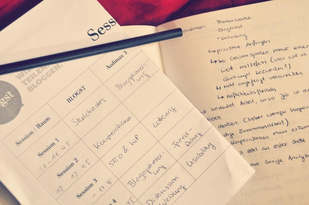 Session Planer