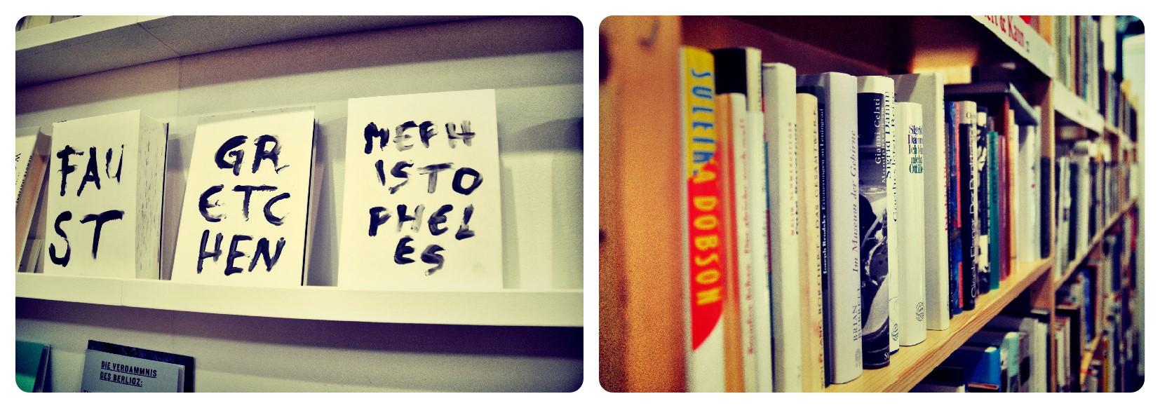 Collage Bücher