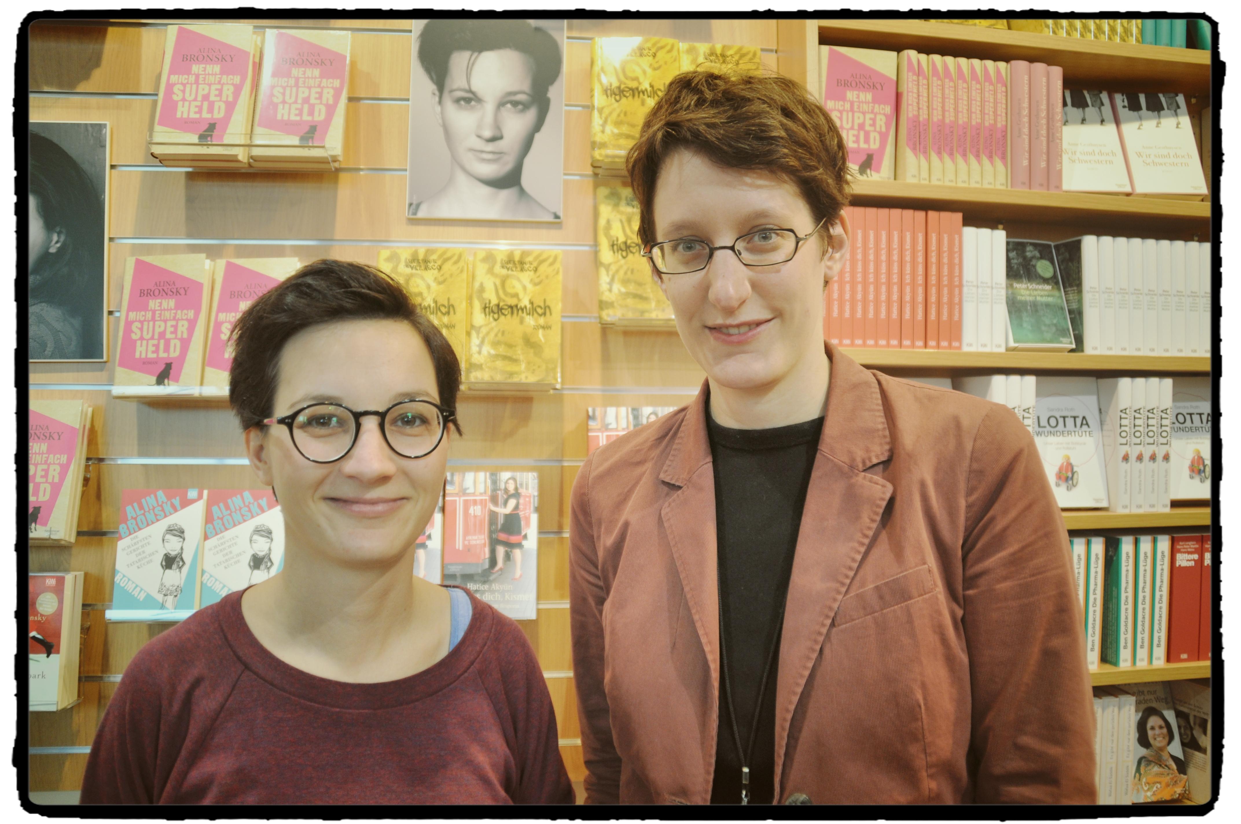Stefanie de Velasco und ich